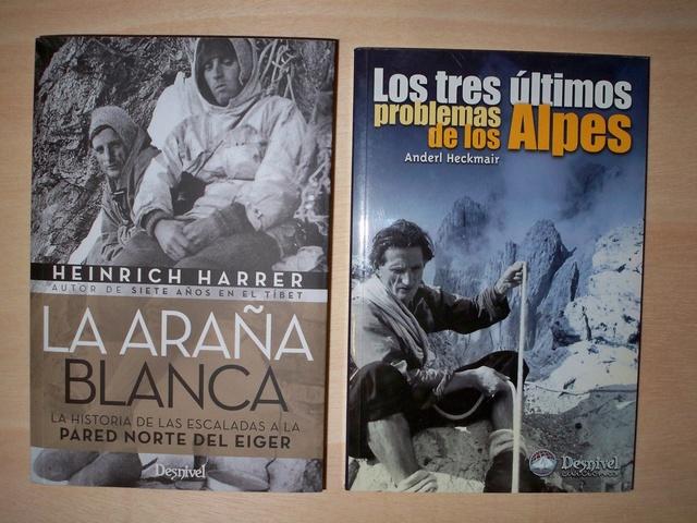 LITERATURA DE MONTAÑA: Libros escritos por alpinistas y montañeros sobre sus logros y modo de vida - Página 2 00111