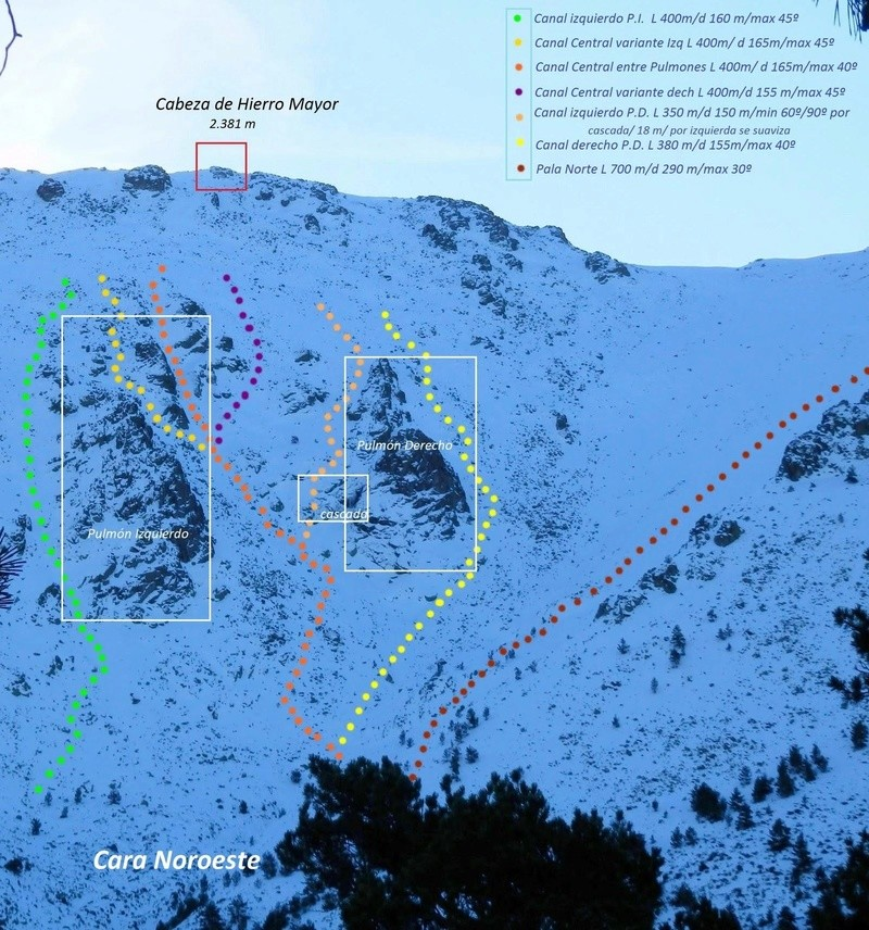 Alpinismo: domingo 12 de febrero 2017 - Alpinismo en Peñalara o Cabezas de Hierro Canale10