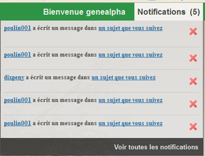 Notification de Messages, privés, sujets, suivis, demandes d'amis  Notifi10