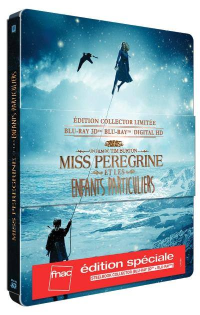 Miss Peregrine et les enfants particuliers Edition spéciale Fnac 15095410