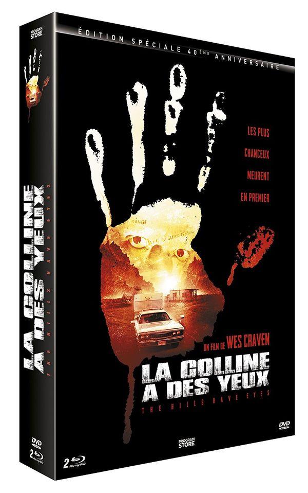 La Colline a des Yeux : Edition Collector 40e Anniversaire, Bluray + Livre 07/12 81guo010