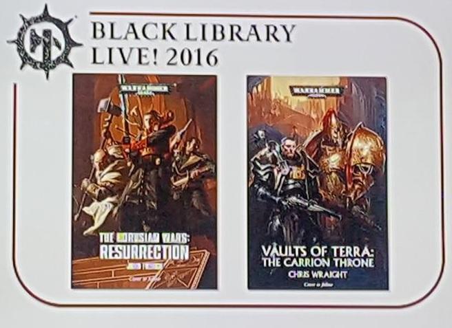 [Black Library Live 2016] - Centralisation des news 210
