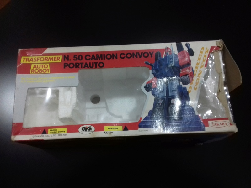transformers - SCATOLA DIACLONE CONVOY CAB TRANSFORMERS 20170213