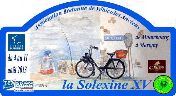 La Solexine XV dans le Cotentin Plaque14