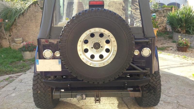 Montage feux arrière led Jeep10