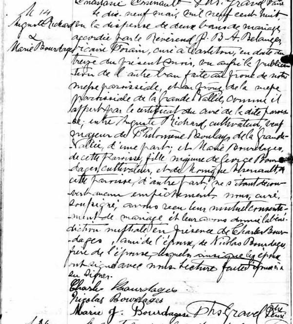 Recherche naissance de Philomene Boulet? Augric12