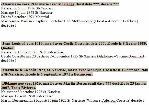 Enfants Xavier Brouillette Herminie Gervais  Brouil11