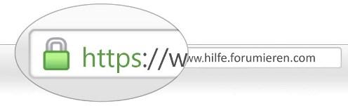 [Mitteilung] Neue sichere Standards der Verbindungsprotokolle - HTTPS Https-10