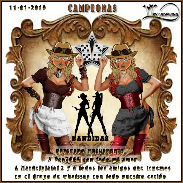 11/01/2019 CAMPEONAS GOGUITA1 Y TERSANOVA - SUBCAMPEONAS CATYGAN Y TAMARAGUA11 11-1-111