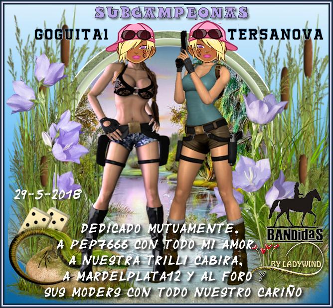 29/5/2018 CAMPEONAS GOGUITA1 Y TERSANOVA - SUBCAMPEONES MIGUELC84 Y JOSEMAPE 29-5-c10
