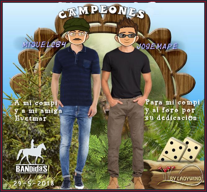 29/5/2018 CAMPEONAS GOGUITA1 Y TERSANOVA - SUBCAMPEONES MIGUELC84 Y JOSEMAPE 29-5-s10