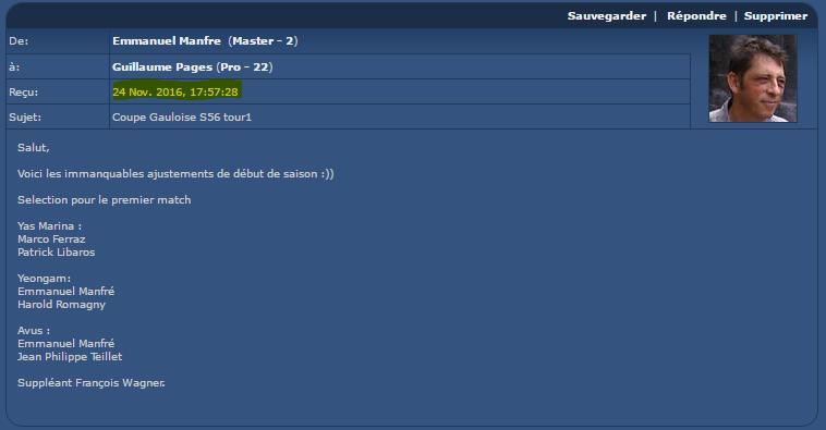 Réclamation sur la Coupe Gauloise  Captur44