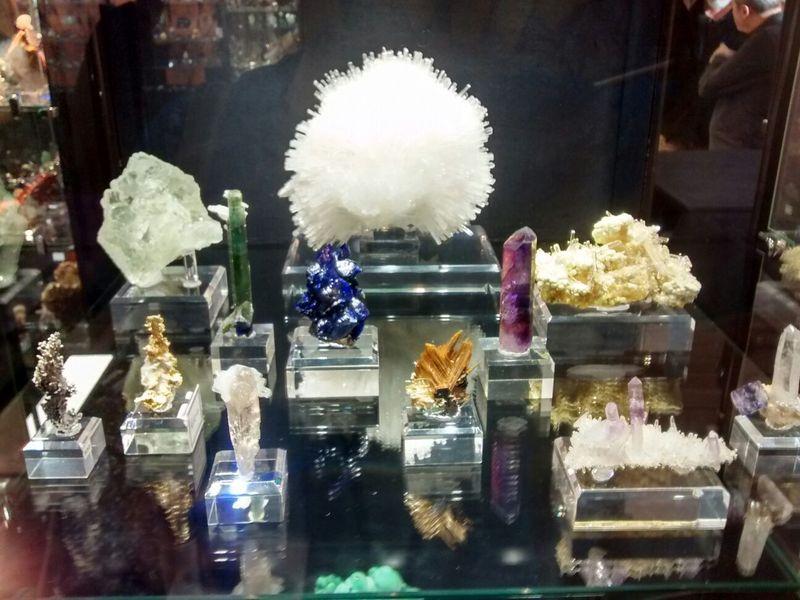 Salón Internacional Minéral Expo París 3610
