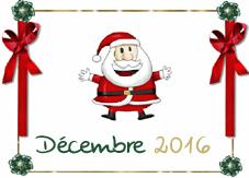 MOIS DE DECEMBRE 2016 Dec310