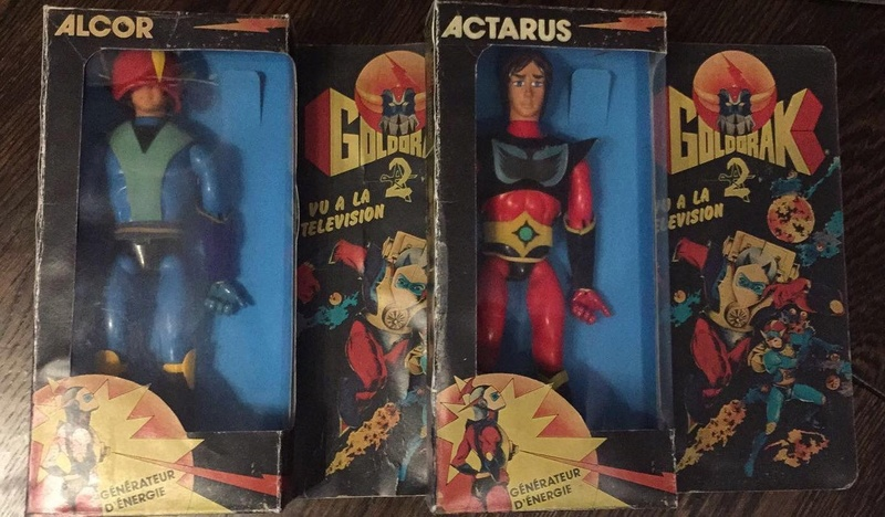 Actarus e Alcor Goldrake Action figure vintage  Img_3011