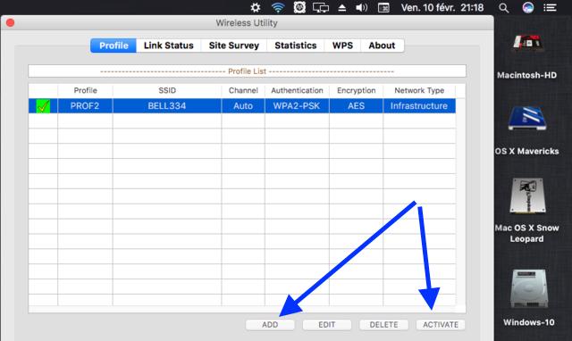 WIFI Network macOS Sierra Clover 2captu27
