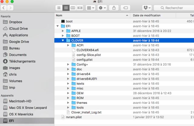 PB Install El capitan sur Acer  Predator3610 Captu127