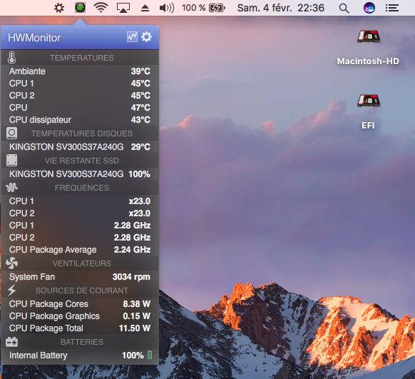 macOS High Sierra et macOS   Sierra HP Probook 4530S, 4440S, 4540S, 6460B, 6570B, 8460P, 8470p, 6470B,2570P, 9470M (UEFI) - Page 3 Captur38
