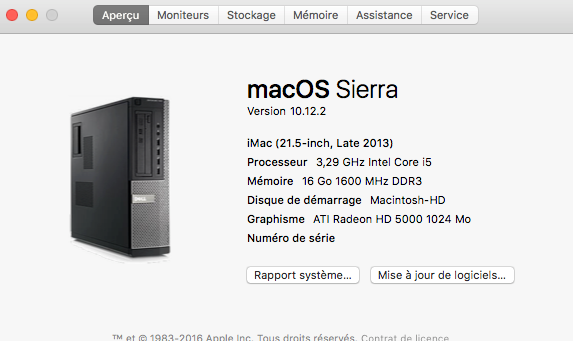 MacOS Sierra 10.12.2 Update Captur87