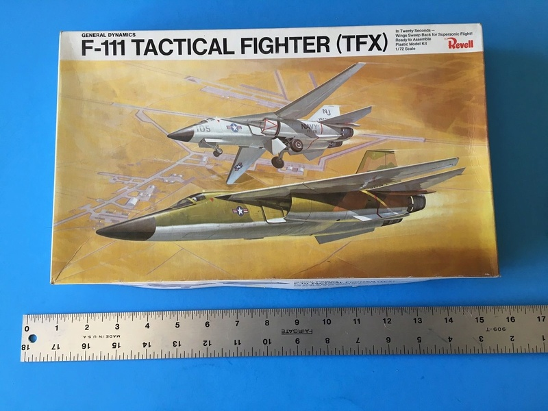 """wanted """" 1/72 Revell  F-111 TFX"""" S-l16010"""