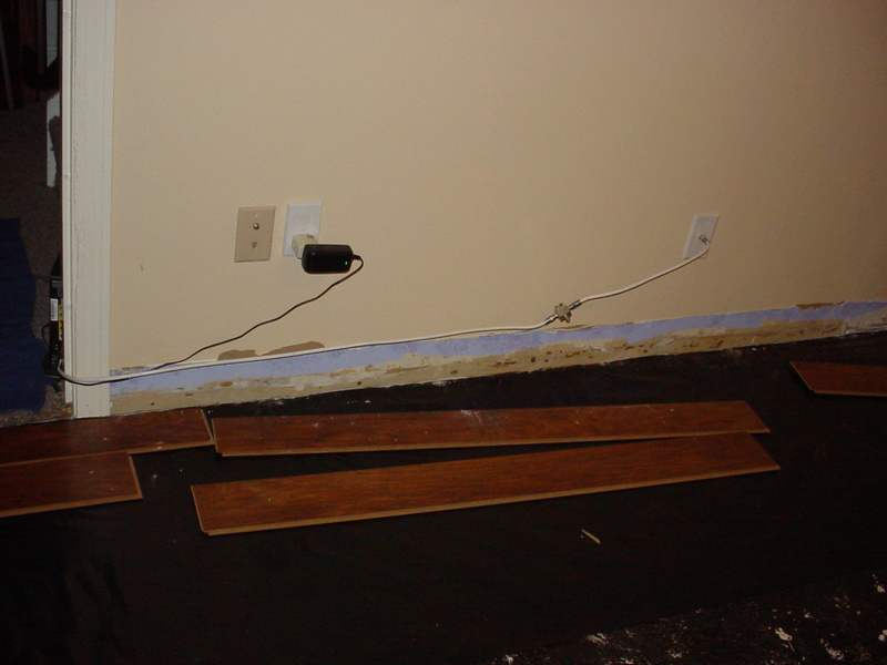 Laminate flooring installation-my experience 11-20-12