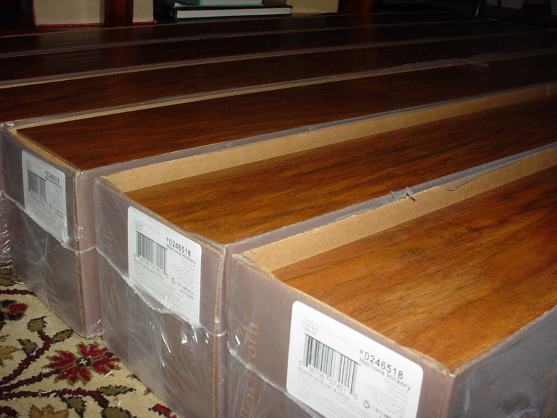 Laminate flooring installation-my experience 11-20-14