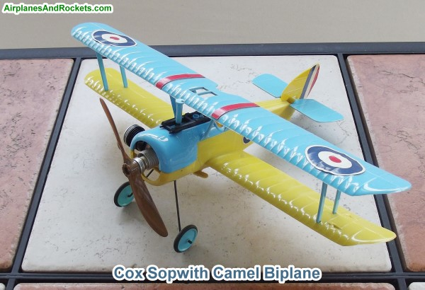 What was your favorite cox airplane ? Cox-so10