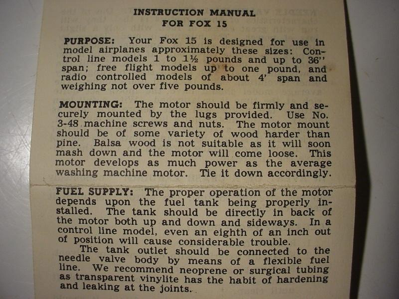 "A ""hurlable"" Fox .15? Manual10"