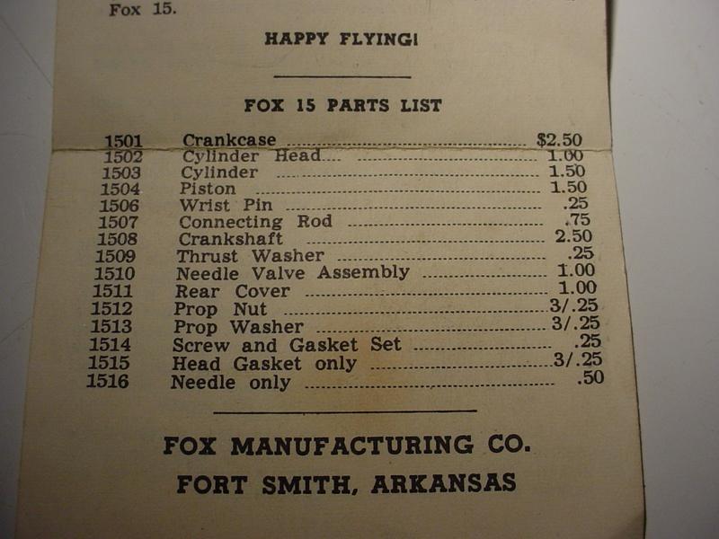 "A ""hurlable"" Fox .15? Manual16"