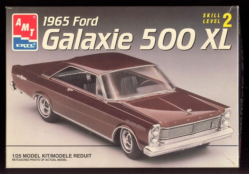 1965 Ford Galaxie 500 XL de AMT Amt19610