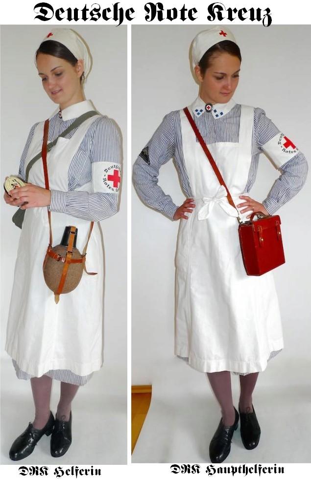Deutsche Rote Kreuz (DRK), la tenue de l'aide soignante allemande Drk_he12