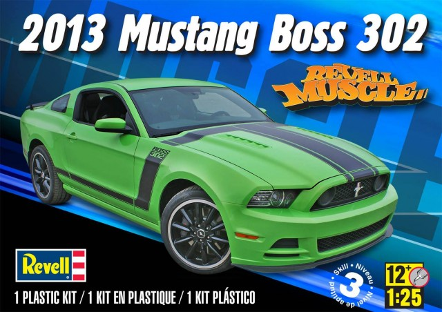"'13 Ford Mustang Boss 302 ""Black orange"" (Revell) [WIP]  26392710"