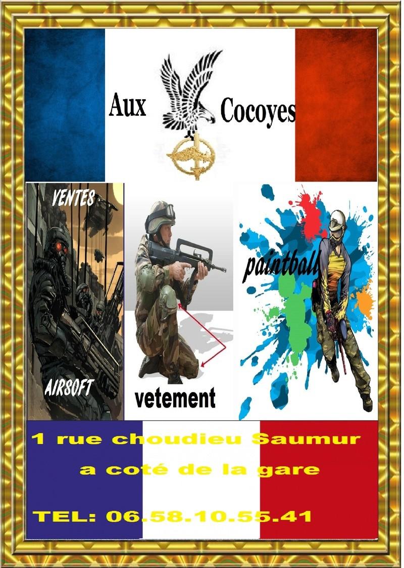 aux cocoyes surplus militaire de Saumur