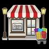 Restaurants, boutiques, supermarchés & commerces en général