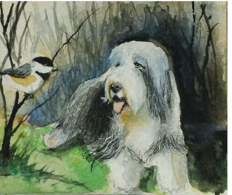 Les animaux peints à l'AQUARELLE A_00314