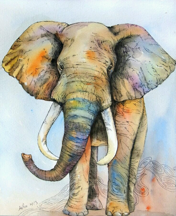 Les animaux peints à l'AQUARELLE - Page 4 Aqel10