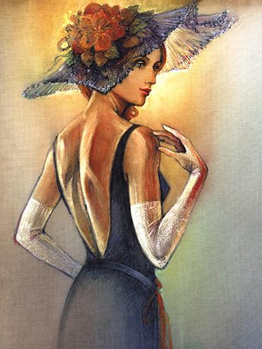 """Des élégantes  """"chapeautées"""" ... - Page 12 Chap_j26"""