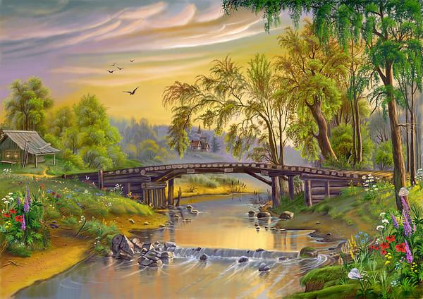 L'eau paisible des ruisseaux et petites rivières  - Page 6 Eau_b10