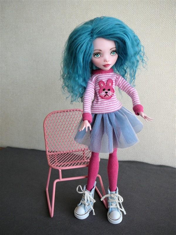 """Monster High customisées : """"City Girls"""" 08_dra10"""