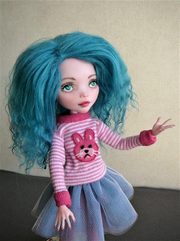 """Monster High customisées : """"City Girls"""" 09_dra10"""