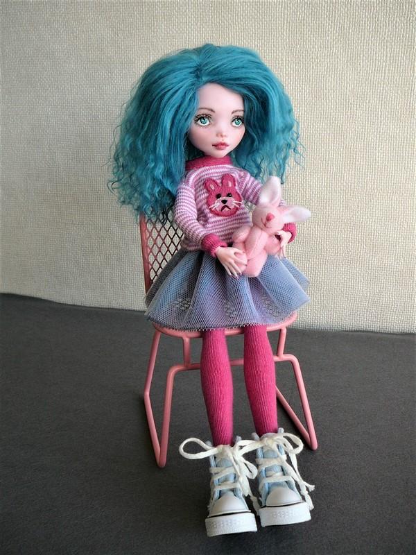 """Monster High customisées : """"City Girls"""" 10_dra10"""