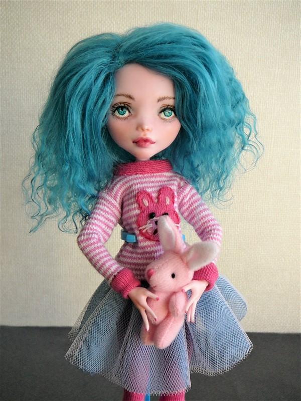 """Monster High customisées : """"City Girls"""" 12_dra10"""