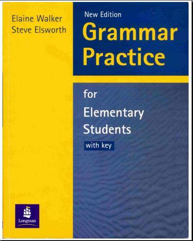 كتاب لتعليم الجرامر و تدريبات عليه - 2 ميجا فقط 14993510