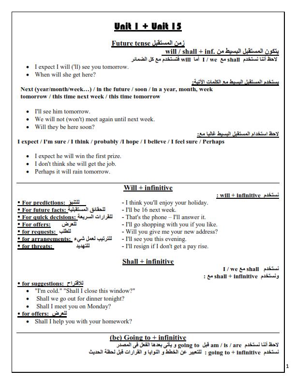 أخطر مذكرة grammar لطلاب الثانوية العامة Sajn_g10