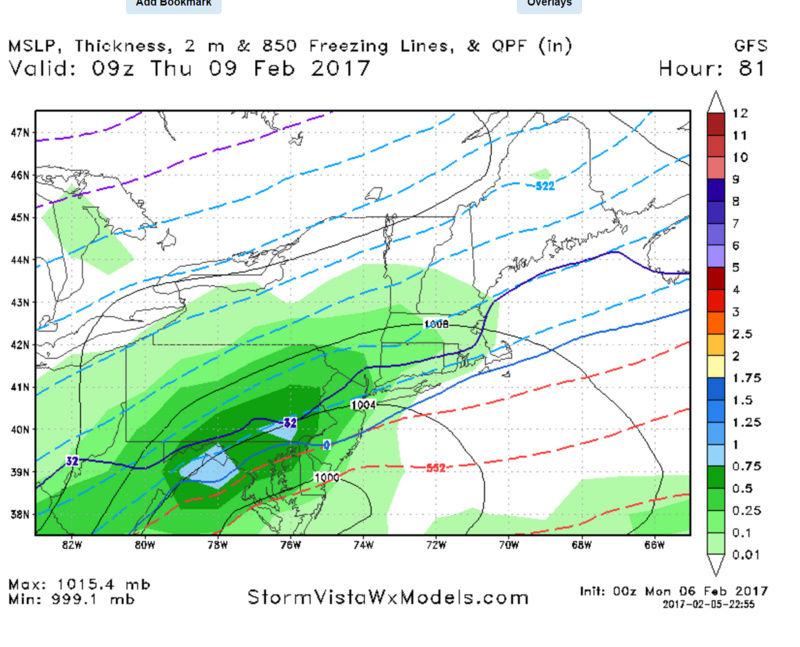 Possible Snowstorm Thursday, February 9th Gfs10