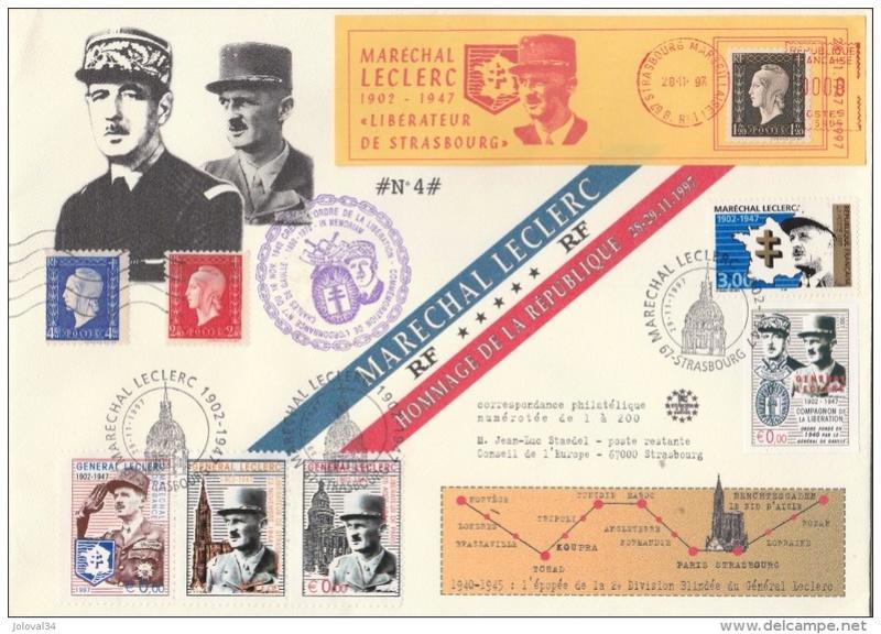 Strasbourg 1969 ,1974,1984,1987,1997,2014,médaille,vignettes Envelo14