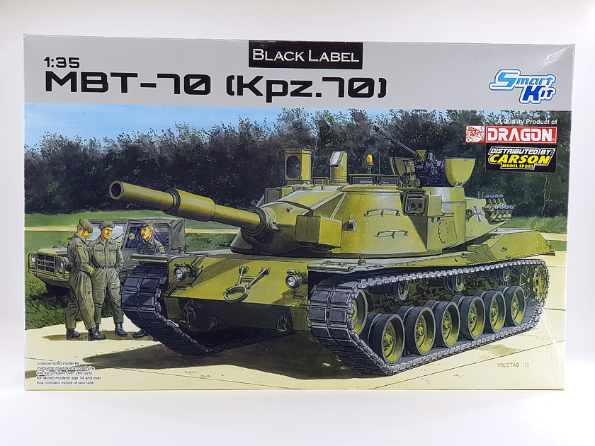 MBT-70 (Kpz.70) [Dragon gamme Black Label] – 1/35 (Montage en cours) Mbt-7013