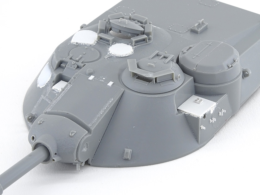 MBT-70 (Kpz.70) [Dragon gamme Black Label] – 1/35 (Montage en cours) Mbt-7033