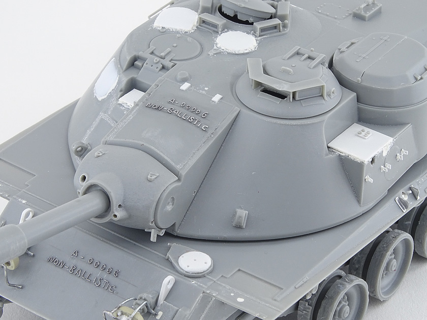 MBT-70 (Kpz.70) [Dragon gamme Black Label] – 1/35 (Montage en cours) Mbt-7035