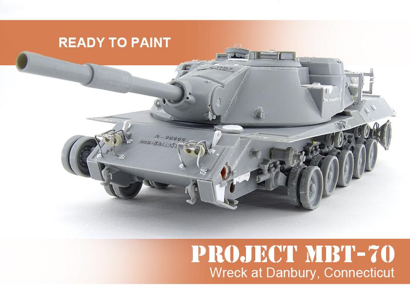 MBT-70 (Kpz.70) [Dragon gamme Black Label] – 1/35 (Montage en cours) Mbt-7049